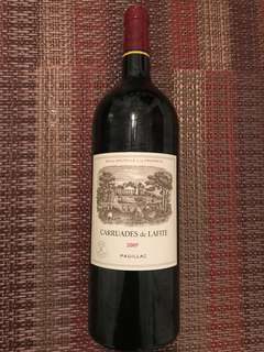 "1500ml-2007 Ch Lafite (Second) ""Carruades de Lafite"""