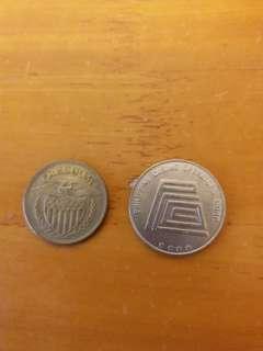 老虎機代幣二個包郵