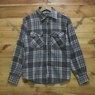 Vans shadow plaid flannel longsleeve shirt original