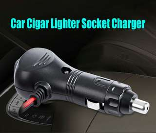 MOTORCYCLE CIGAR LIGHTER SOCKET PLUG CONNECTOR