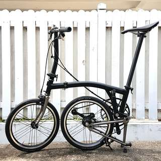 Avola external 3speed wheelset for brompton