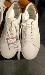 Pull & Bear Woman Sneakers White / Brown