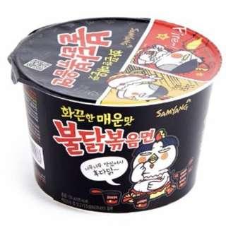 韓國 三養 大碗 辣香雞撈麵 105G
