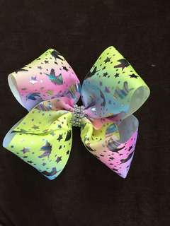 Jojo bow inspired hair bow