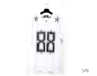 GD 88 FOOTBALL SHIRT G-DEAGON 官方周邊 球衣