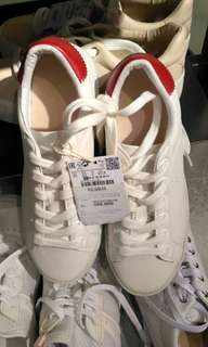 Pull & Bear Woman Sneakers White / Red