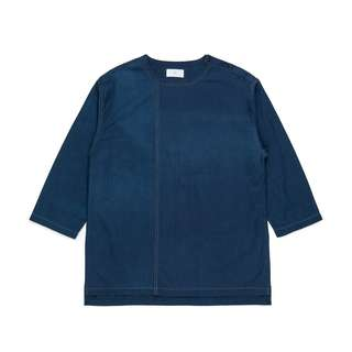 Plain me 藍染套頭上衣 uniqlo