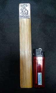 🚚 (9)早期木頭書籤