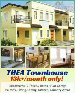 Affordable house and lot, low downpayment, easy and fast bank financing approval