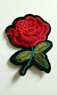 REPRICED Onhand Rose Patches!
