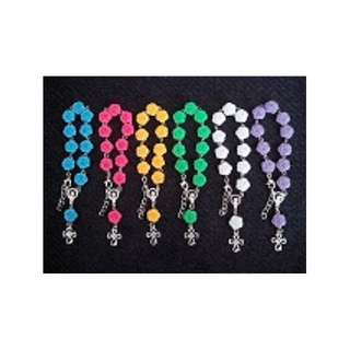 Rose design Rosary Bracelet Souvenirs wedding baptismal birthday