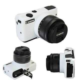 Silicone case Canon EOS M10 (White)