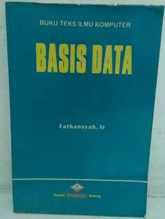 Buku : Teks Ilmu Komputer - BASIS DATA