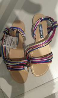ZARA Basic Rainbow Sandals