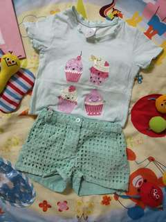 4y girl Shirt & Pants