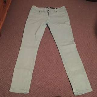 Green jeans size 10