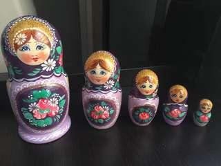Authentic Matryoshka Dolls from Russia