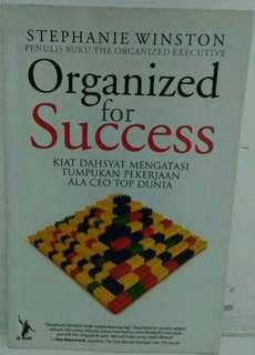 Buku : Organized for Success