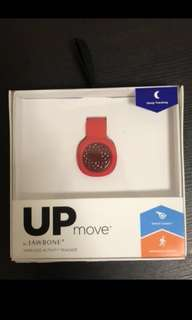 Brand New Jawbone Up Move Tracker Ruby Red with clip