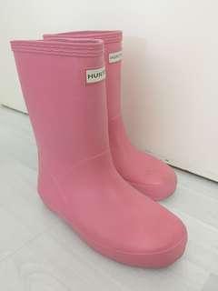 Hunter女童水鞋