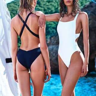 BN white swimsuit