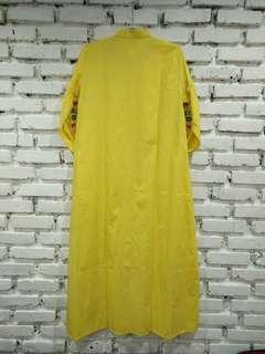Dress tunik kuning