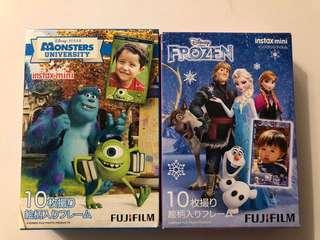2x Fujifilm Instax Mini film (10 pcs each) *Brand New*