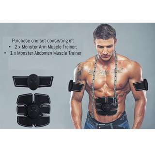 🚚 🌈 Monster Muscle Trainer using EMS technology for home gym