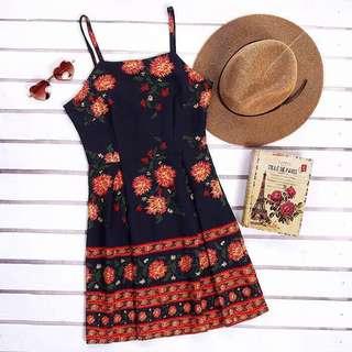 Dress boho flower