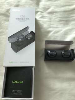QCY branded Wireless Bluetooth earphone model Q29