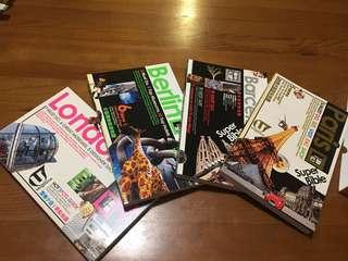 Europe Travel Bible (2008-09) 有興趣收藏嗎?90%全新