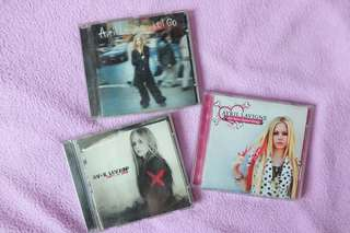Avril Lavigne CD's set of 3
