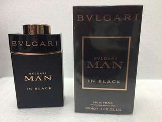 BVLAGARI MAN IN BLACK