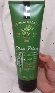 Bath and Body Works - Stress Relief -  body cream