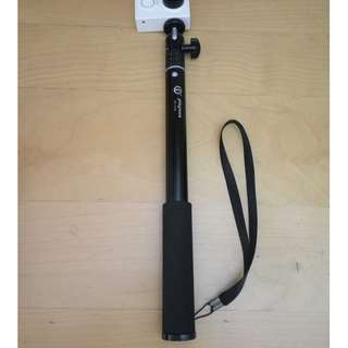 36in LONG Selfie Stick Monopod Pole for GoPro Yi Action Cam