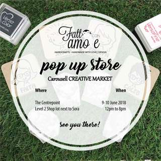 Up coming event - Pop up store at The Centrepoint