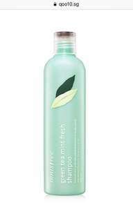 BN Innisfree Green Tea Mint Shampoo 300ml