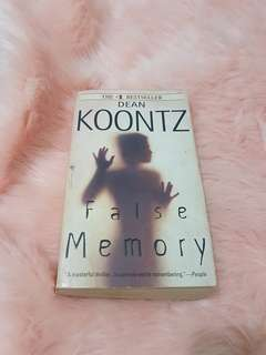 Dean Koontz's False Memory