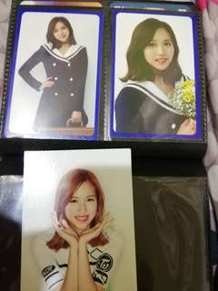 Twice Photocards (mina & others)