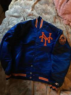 Vintage NY Mets Bomber Jacket