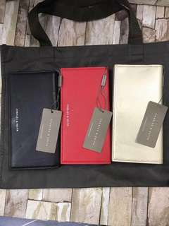 Authentic charles and keith long wallet