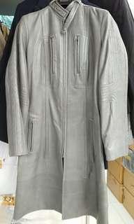 DKNY leather jacket 皮褸