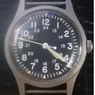 1982 Hamilton GG-W-113 US Military Men's Watch {NOS}
