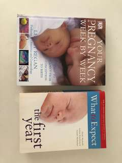 REDUCED Pregnancy and first years books