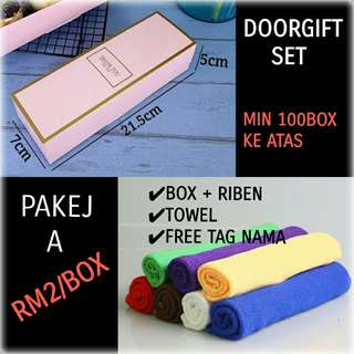 DOORGIFT MINI TOWEL