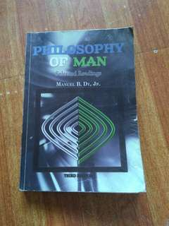 Philosophy of man