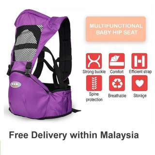 COOLBABY Baby Carrier Bag Multifunctional Baby Hip Seat