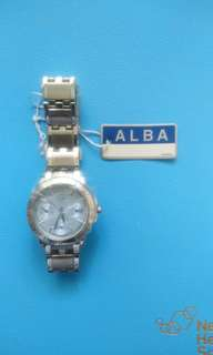 Alba 防水手錶 無盒,95%新