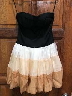 Bustier puffy skirt prom dress