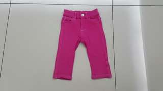 Pink Soft Jeans (12-18months)